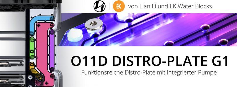 Lian Li O11D Distro-Plate G1 mit integrierter Pumpe startet bei Caseking