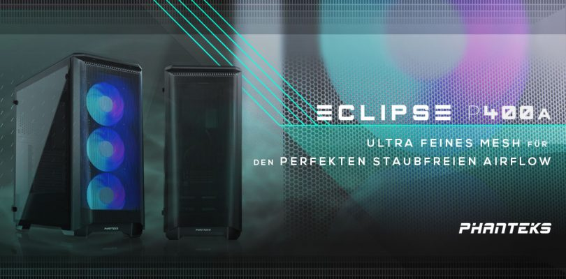 Eclipse P400 Air – Neuer Midi-Tower von PHANTEKS startet in den Verkauf