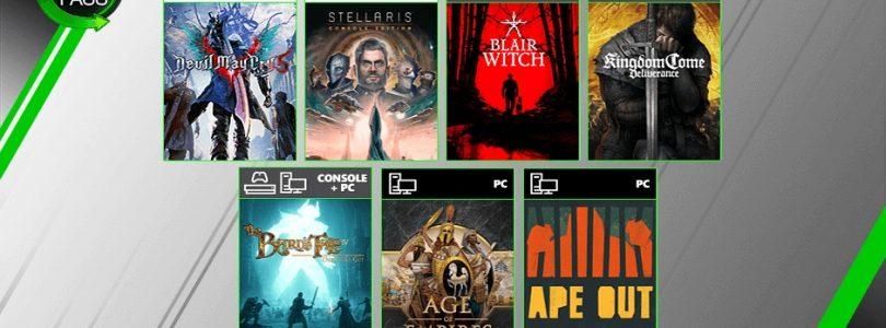 XBox Game Pass – Neun neue Spiele vervollständigen den August 2019