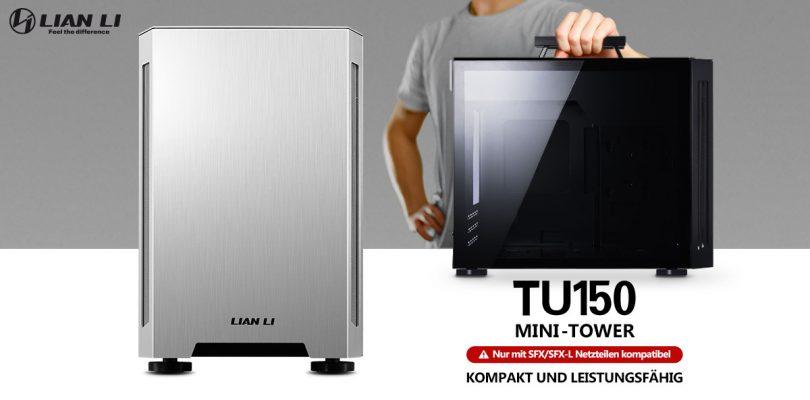 Lian Li TU150 – Portables Mini-ITX-Gehäuse startet in den Verkauf