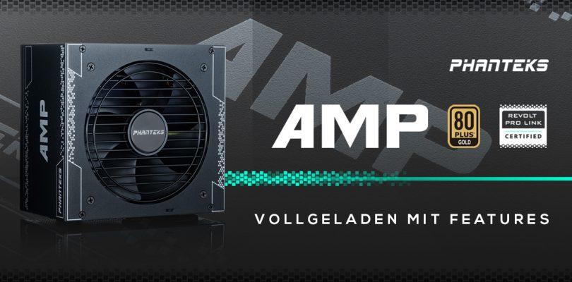 Phanteks AMP – Modulare Netzteilserie startet in den Handel