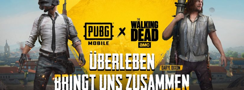 PUBG Mobile startet Event mit The Walking Dead