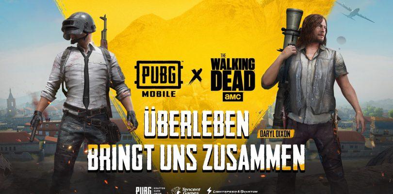 PUBG Mobile startet Event mit The Walking Dead