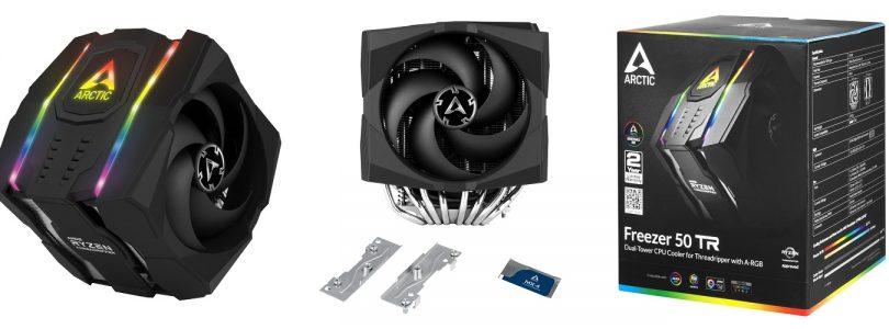 Freezer 50 TR – Der adressierbare RGB-CPU-Kühler von Arctic im Detail