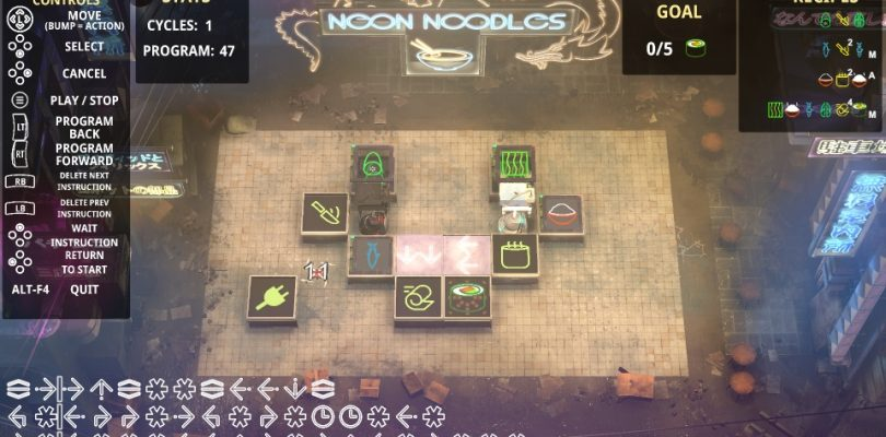 Neon Noodles – Neues Puzzlespiel startet in den Early Access