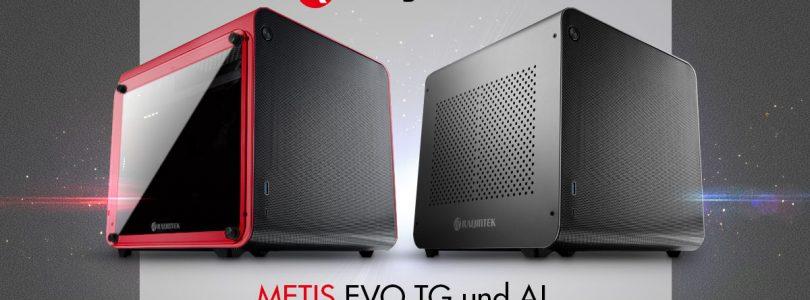 Raijintek METIS EVO TG & AL – Kompaktes Gehäuse mit fettem Luftstorm