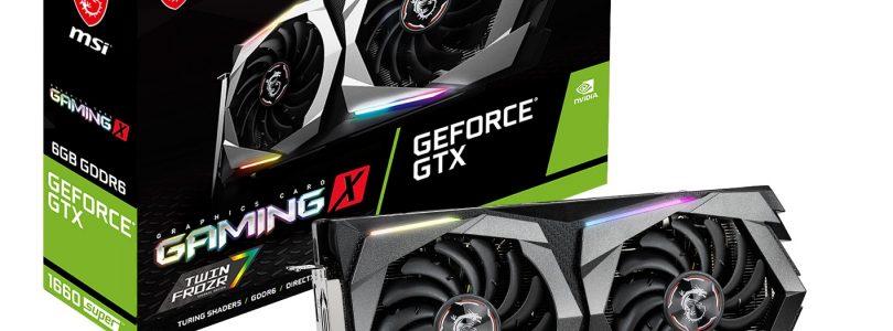 MSI präsentiert seine neuen Super-GPUs GeForce 1660 und 1650