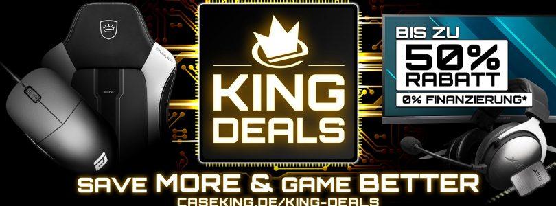 Caseking startet die King Deals 2019