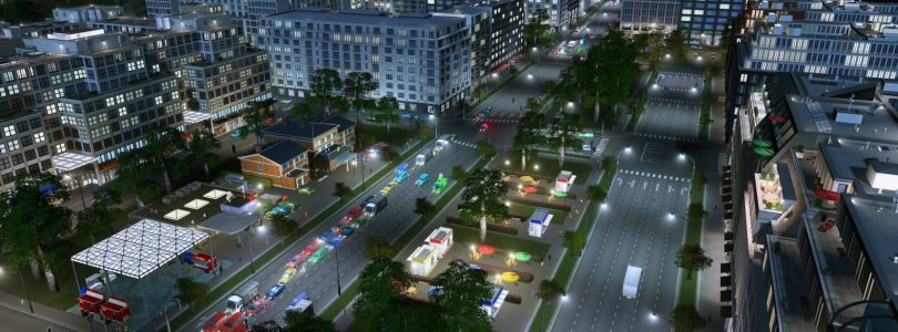 "Cities: Skylines – Zwei frische DLCs ""Modern City Center & Radio Station"" sind am Start"