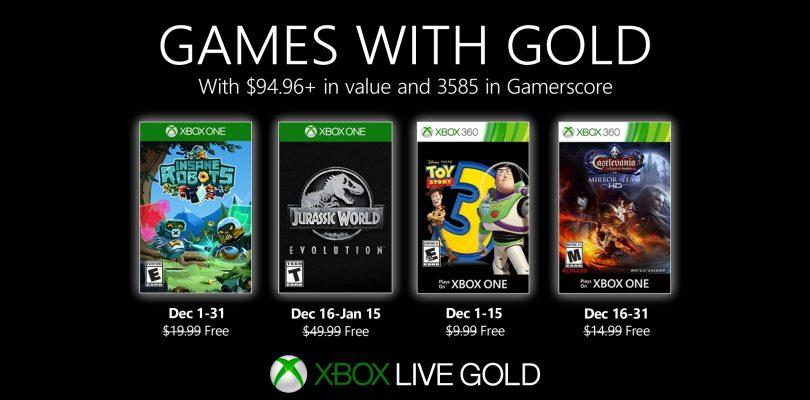 Games With Gold – Hier kommen die Spiele für Dezember 2019