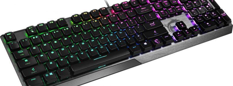 "MSI kündigt neue ""Low Profile""-Gamer-Tastatur VIGOR GK50 LP an"