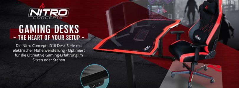 Nitro Concepts D16 – Der spezielle Tisch für Gamer im Detail