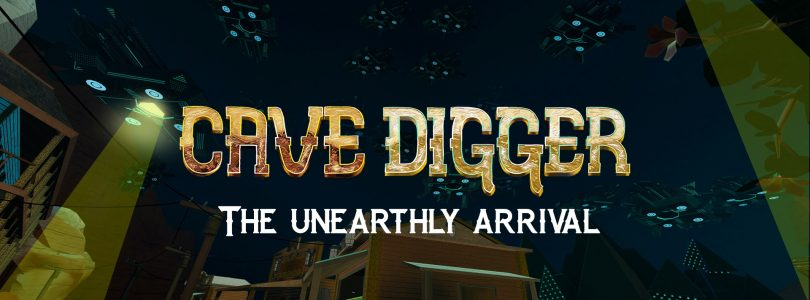 """Cave Digger – Content-Patch """"The Unearthly Arrival"""" veröffentlicht"""