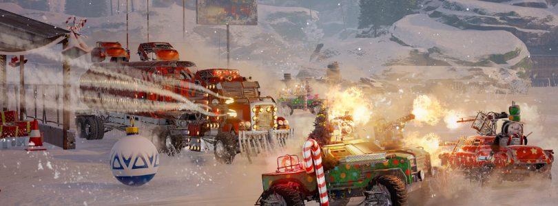 """Crossout feiert die Feiertage mit einem Update sowie dem """"Snowstorm""""-Event"""