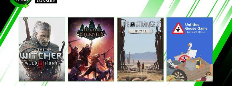 XBox Game Pass – Im Dezember folgen noch The Witcher 3 und Mehr