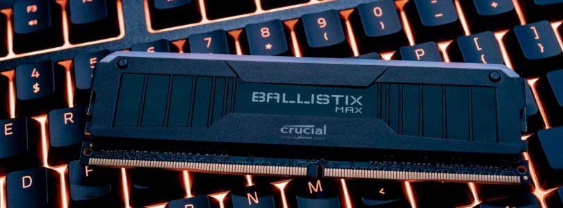 Crucial Ballistix MAX – Neue Generation der RAM auf der CES 2020 angekündigt