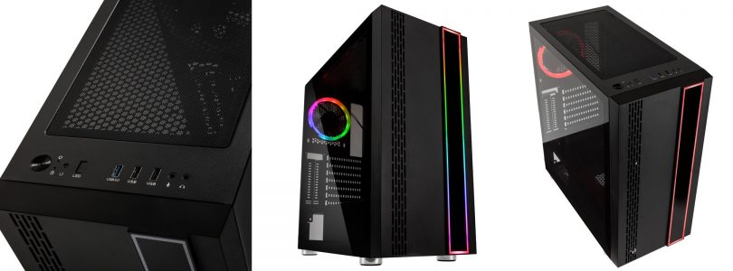 Hardware-Test: Kolink Outline – Ein schlanker RGB-Midi-Tower