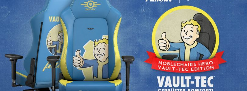 noblechairs HERO – Gaming-Stuhl in der Fallout Vault Tec Edition