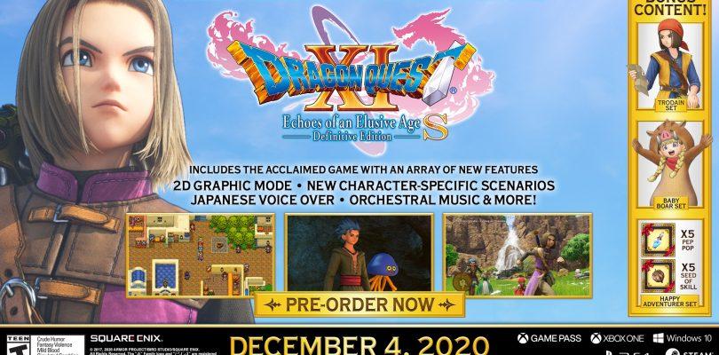 Dragon Quest XI S startet via Google Stadia