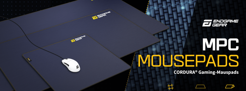 Endgame Gear – Das MPC CORDURA Gaming-Mousepad im Detail