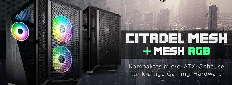 Kolink Citadel Mesh – Neuer PC-Tower mit oder ohne RGB