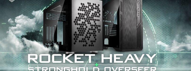 Kolink – Mini ITX-Rocket Heavy Gehäuse und Midi-Tower Stronghold Overseer im Detail