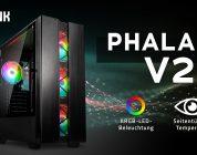 Kolink Phalanx V2 – Midi-Tower mit adressierbarer RGB-Beleuchtung
