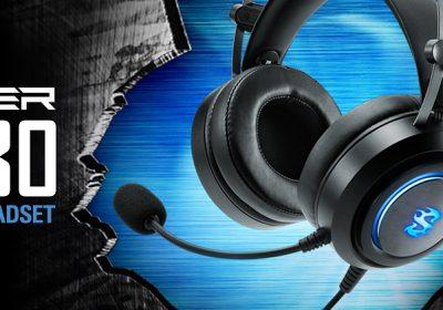 Sharkoon SKILLER SGH30 – Headset mit virtuellem 7.1 Sound und RGB-Beleuchtung