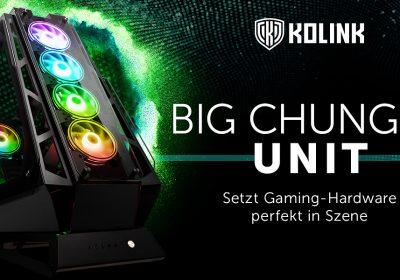 Kolink Big Chungus UNIT – Das große Showcase-Gehäuse im Detail