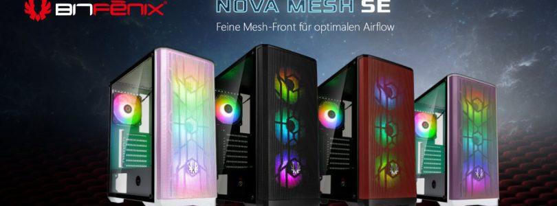 BitFenix Nova Mesh SE – Das Midi-Gehäuse im Detail