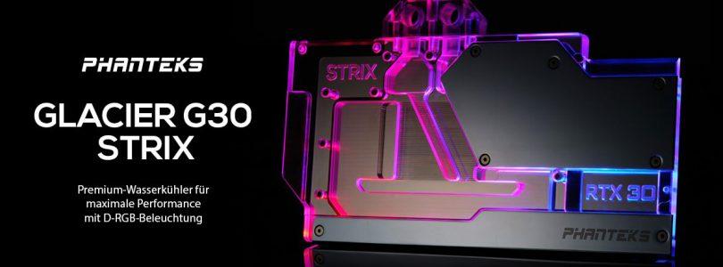 PHANTEKS Glacier G30 STRIX – Die Premium-Wakü für die ASUS GeForce RTX 3000er-Serie im Detail