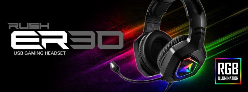 Sharkoon RUSH ER30 – Das RGB-Gaming-Headset im Detail