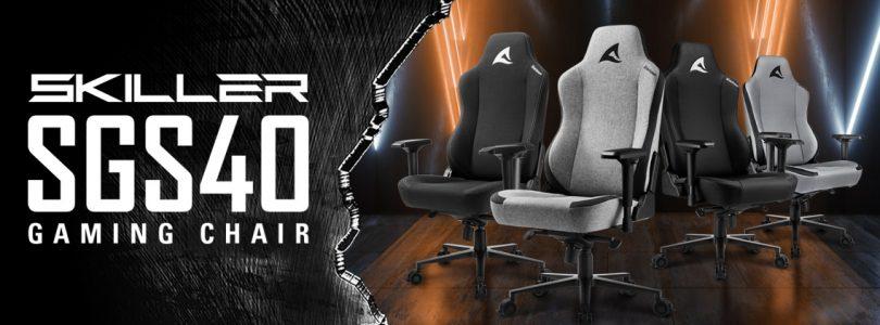 Sharkoon SKILLER SGS40 – Der Gaming Chair im Detail