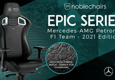 noblechairs EPIC – Mercedes-AMG Petronas Formula One Team 2021 Edition im Detail