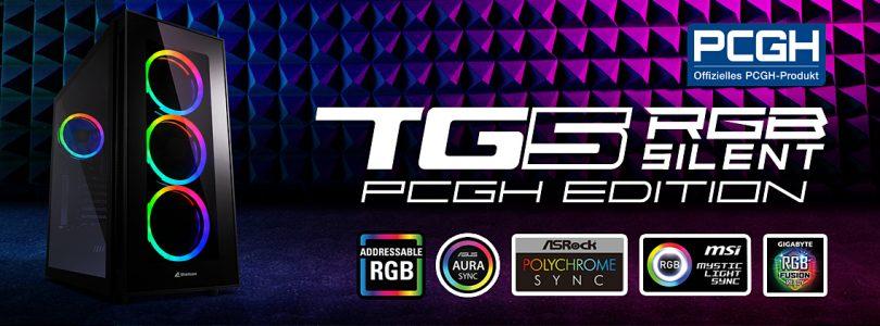 TG5 RGB Silent PCGH Edition – Geräuscharmes Gehäuse von Sharkoon