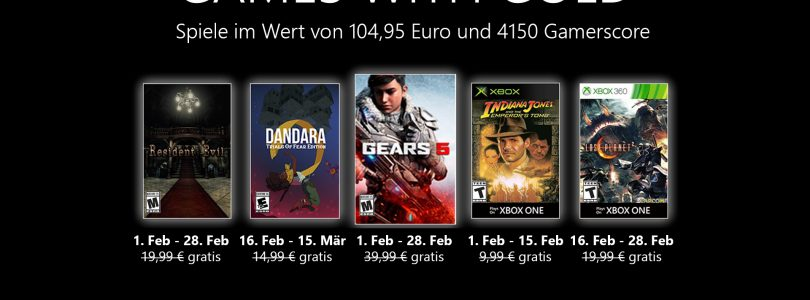 Games With Gold – Hier kommt der Februar 2021