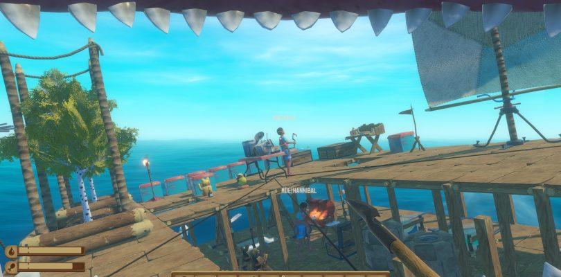 Preview: Raft – Gemeinsamer Überlebenskampf auf hoher See