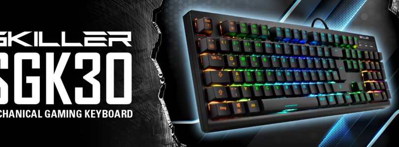 SKILLER SGK30 – Die Gaming-Tastatur von Sharkoon im Detail