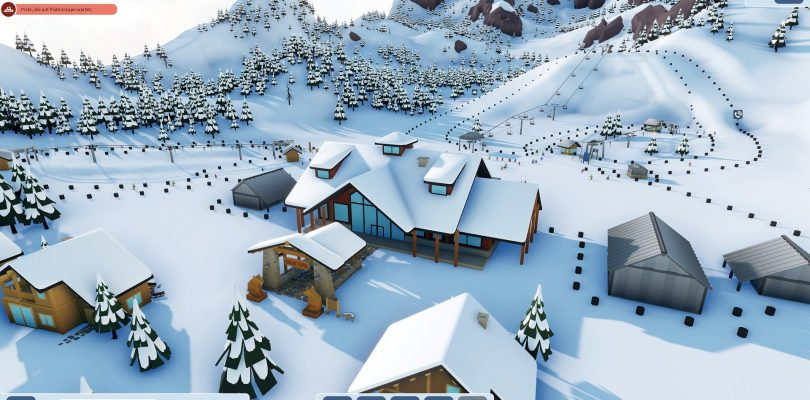 Preview – Snowtopia: Ski Resort Tycoon – Unser perfektes Skigebiet