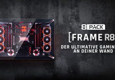 """8Pack Frame R8 – Deluxe Gaming-PC um """"schlanke"""" 9.800€"""