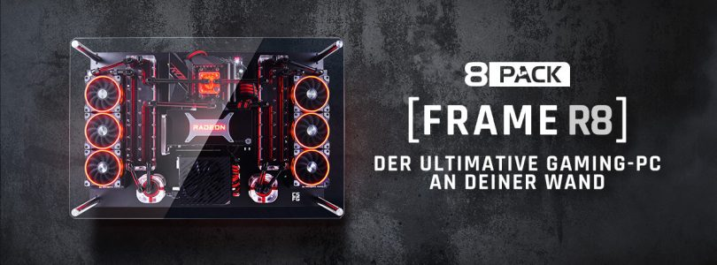 "8Pack Frame R8 – Deluxe Gaming-PC um ""schlanke"" 9.800€"