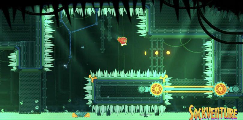 Sockventure – Plattformer startet seinen Release auf dem PC