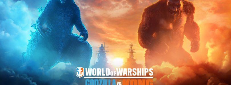 "World of Warships – Event ""Godzilla vs. Kong"" gestartet"