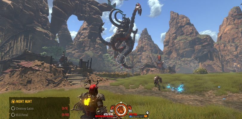 Preview – Almighty: Kill Your Gods – Generisches MMO-Gemetzel?