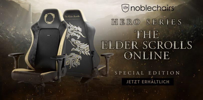 noblechairs HERO – Special Edition zu Elder Scrolls Online am Start