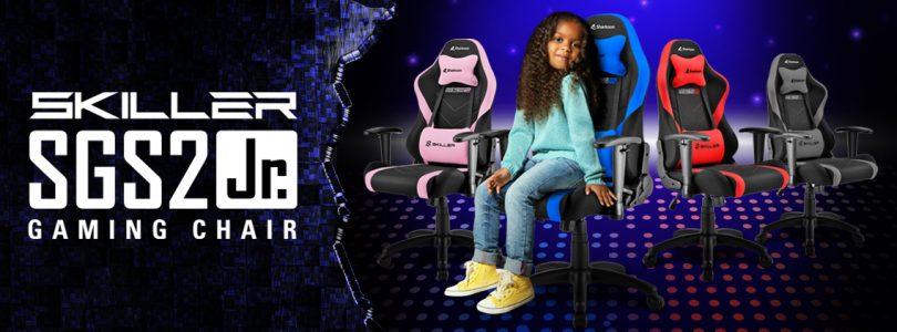 Sharkoon SKILLER SGS2 Jr. – Der Gaming-Stuhl für eure Kids im Detail