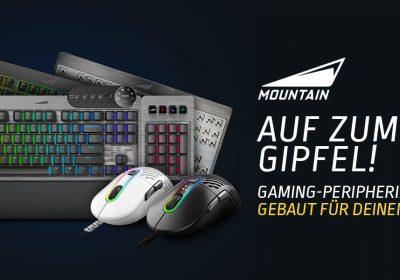 Everest Max Tastatur und Makalu 67 Maus von Mountain im Detail