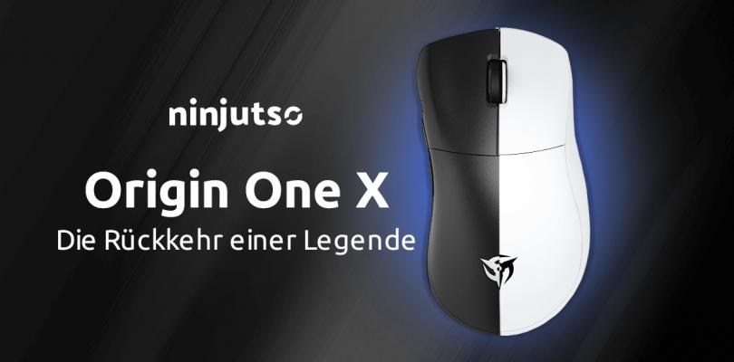 Ninjutso Origin One X – Rückkehr der Legende als Gaming-Maus