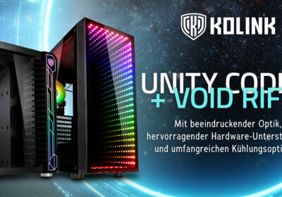 Unity Code X und Void Rift – Die Gehäuse von Kolink im Detail