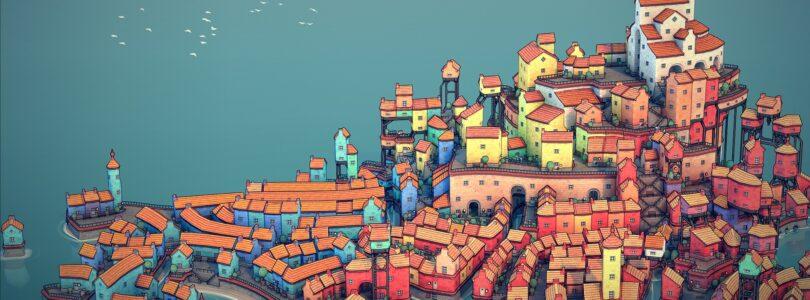 Townscaper startet seinen Release auf dem PC und Nintendo Switch